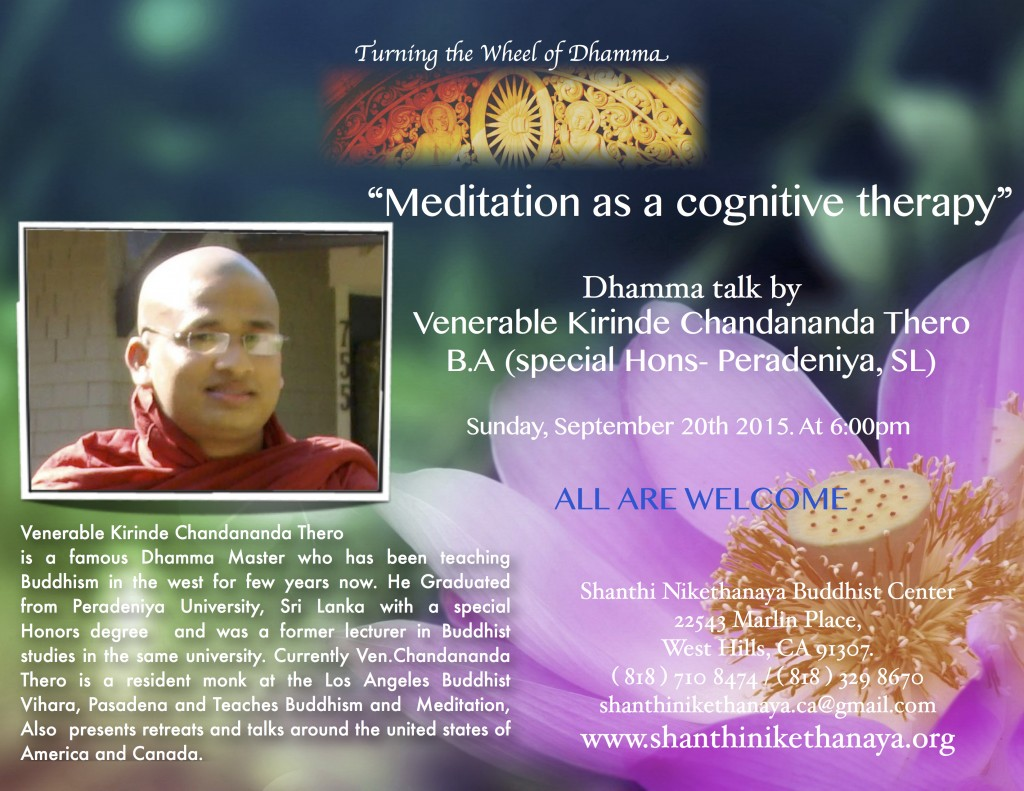 Dhamma talk by Chandananda